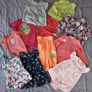 12M Baby Girl's Bundle Clothes